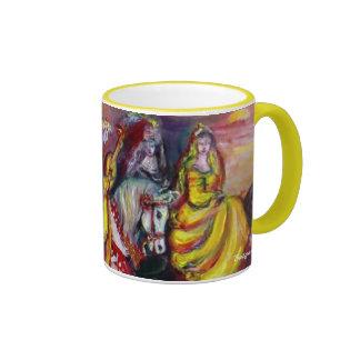 Riders in the Night - Customized Coffee Mug