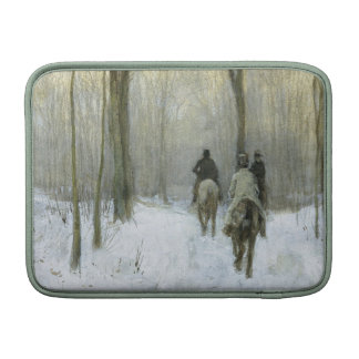 Riders in the Snow in the Haagse Bos, Anton Mauve MacBook Air Sleeve