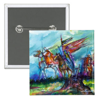 RIDERS IN THE STORM 2 INCH SQUARE BUTTON