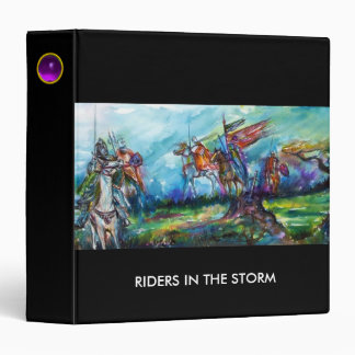 RIDERS IN THE STORM black Binder