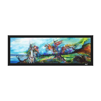 RIDERS IN THE STORM CANVAS PRINT