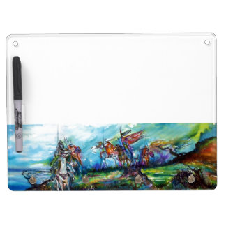 RIDERS IN THE STORM DRY ERASE BOARD WITH KEYCHAIN HOLDER