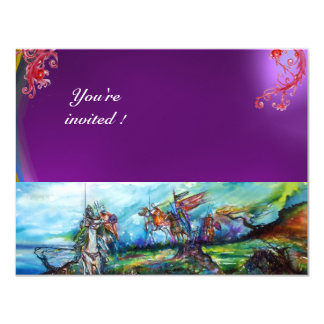 RIDERS IN THE STORM gem purple Card
