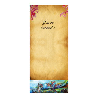 RIDERS IN THE STORM parchment Personalized Invites