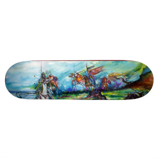 RIDERS IN THE STORM SKATE BOARD DECK