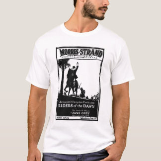 'Riders of the Dawn' 1920 vintage movie ad T-shirt