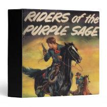 Riders of the Purple Sage 3 Ring Binder