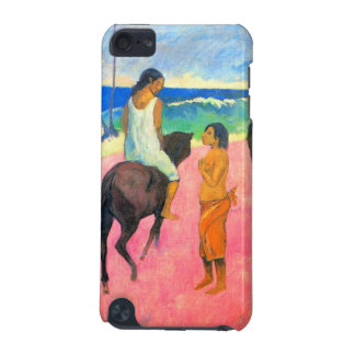 Riders on beach horsemen horses art by Gauguin iPod Touch (5th Generation) Covers