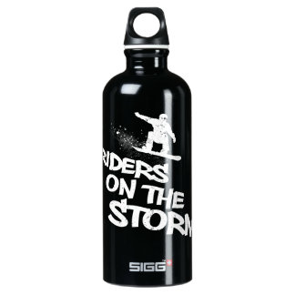Riders On The Storm Aluminum Water Bottle