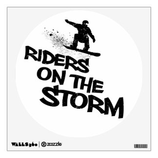Riders On The Storm Wall Sticker