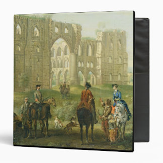 Riders Pausing by the Ruins of Rievaulx Abbey, c.1 Binder
