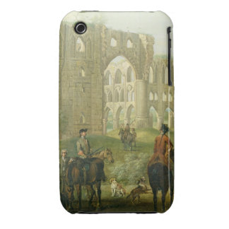 Riders Pausing by the Ruins of Rievaulx Abbey, c.1 iPhone 3 Case-Mate Case