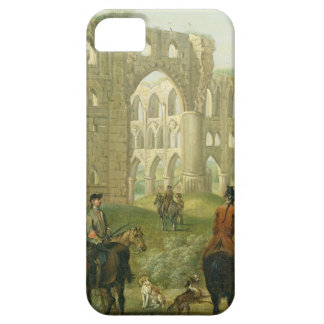 Riders Pausing by the Ruins of Rievaulx Abbey, c.1 iPhone 5 Cover