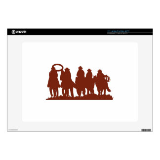 Riders Silhouette Decals For Laptops