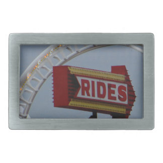 Rides and Roller Coaster Belt Buckle