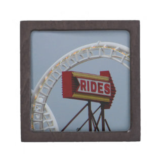 Rides and Roller Coaster Jewelry Box