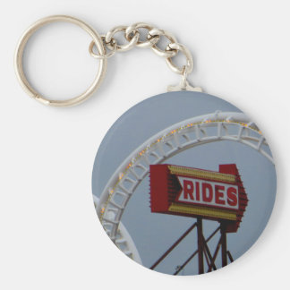 Rides and Roller Coaster Keychain