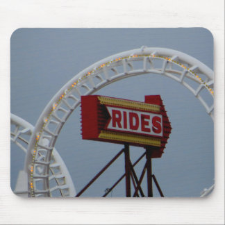 Rides and Roller Coaster Mouse Pad