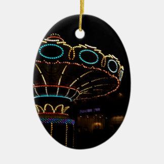 Rides Ceramic Ornament