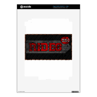 Rides Decal For The iPad 2