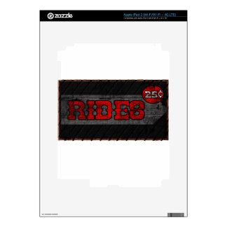 Rides iPad 3 Skin