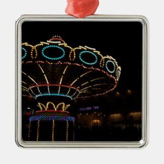 Rides Metal Ornament