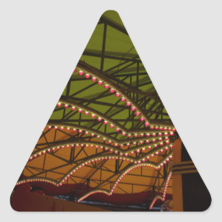 rides triangle sticker