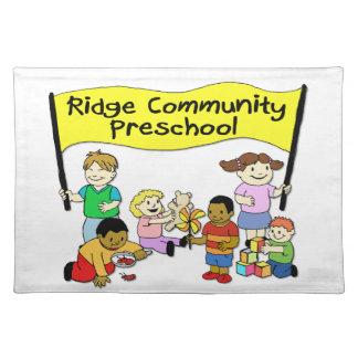 Ridge Community Preschool Cloth Placemat