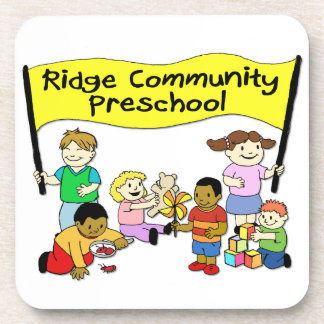 Ridge Community Preschool Drink Coasters