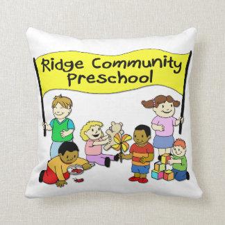 Ridge Community Preschool Throw Pillow