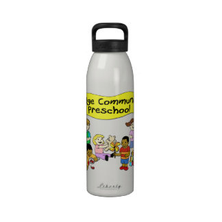 Ridge Community Preschool Reusable Water Bottles