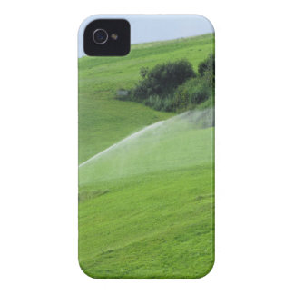 Ridge en pasto alpino con las regaderas de la Case-Mate iPhone 4 fundas