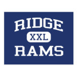 Ridge - Rams - Junior High School - Mentor Ohio Postcard