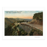 Ridge Route, Overlooking Castaic Creek Postcard