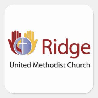 Ridge Square Sticker