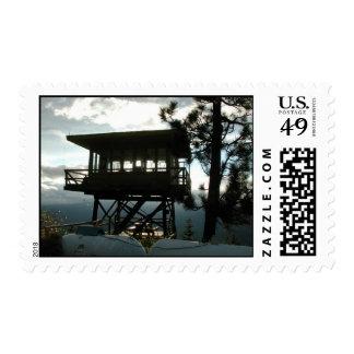 Ridge verde sellos postales