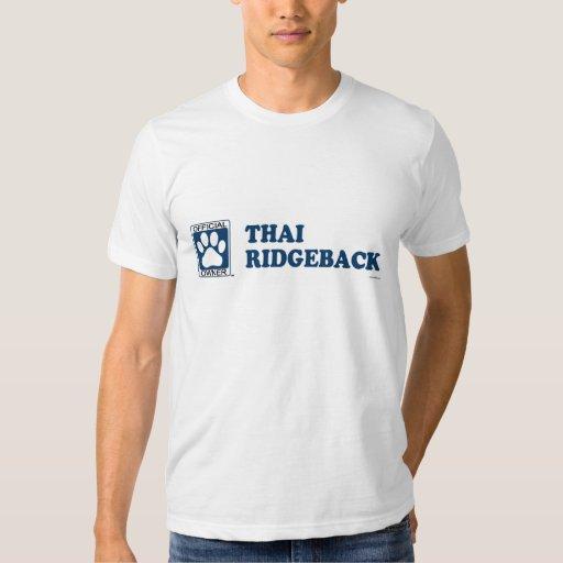 RIDGEBACK_Blue TAILANDÉS Polera