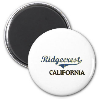 Ridgecrest California City Classic 2 Inch Round Magnet