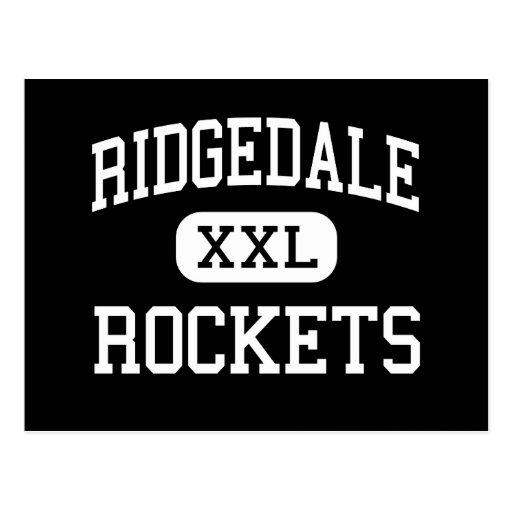 Ridgedale - Rockets - High School secundaria - Postales