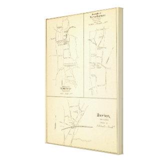 Ridgefield, Newton, Darien Canvas Print