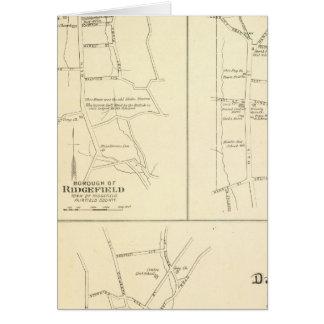 Ridgefield, Newton, Darien Tarjeta De Felicitación