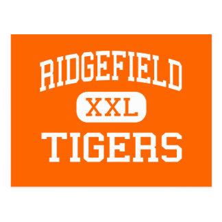 Ridgefield - tigres - alto - Ridgefield Tarjeta Postal