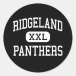 Ridgeland - panteras - alto - Rossville Georgia Etiquetas
