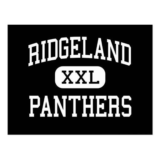 Ridgeland - panteras - alto - Rossville Georgia Postales