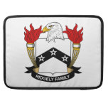 Ridgely Family Crest Sleeve For MacBook Pro