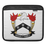 Ridgely Family Crest Sleeves For iPads