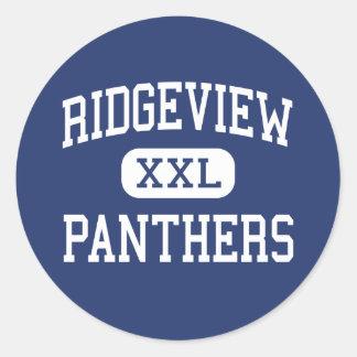 Ridgeview - Panthers - High - Orange Park Florida Stickers