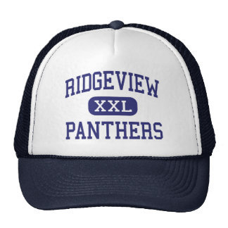Ridgeview - Panthers - High - Orange Park Florida Trucker Hat