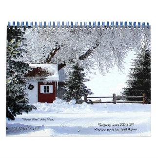 Ridgeway weather calendar