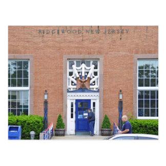 Ridgewood, la oficina de correos de NJ Tarjeta Postal